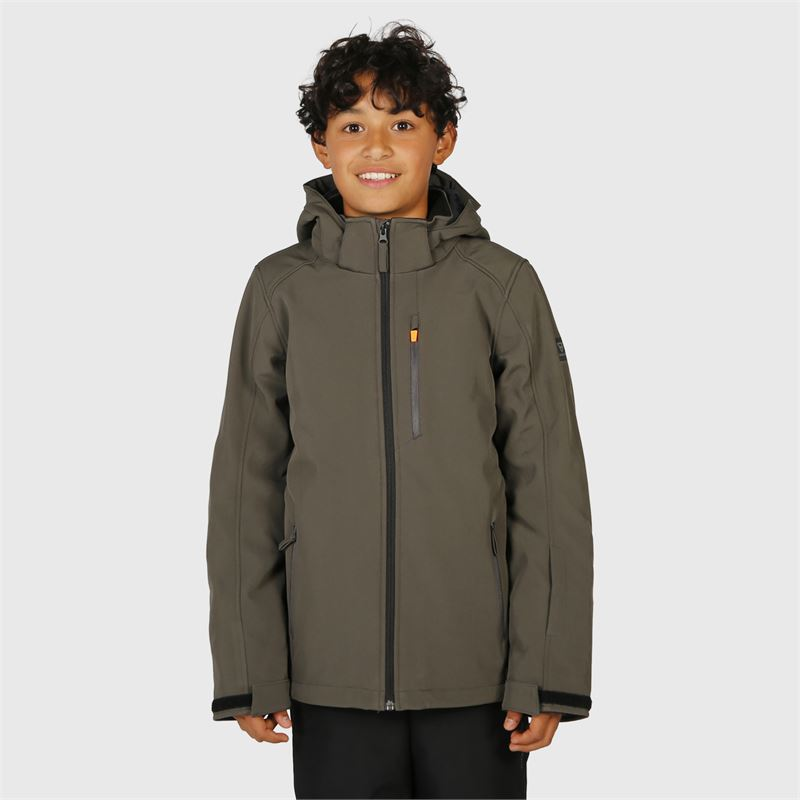Brunotti Marsala-JR-N  (grey) - boys casual jackets - Brunotti online shop