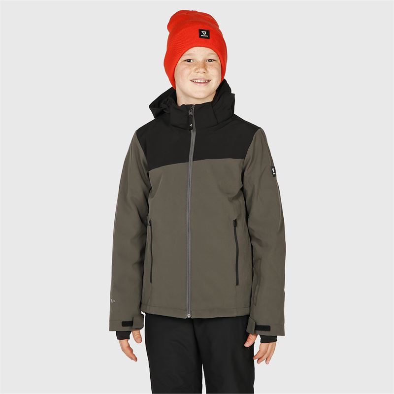 Brunotti Barry-JR  (grau) - jungen casual jacken - Brunotti online shop