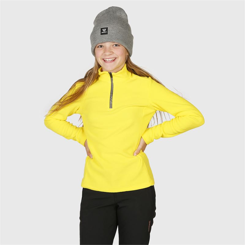 Brunotti Mismy  (geel) - meisjes fleeces - Brunotti online shop