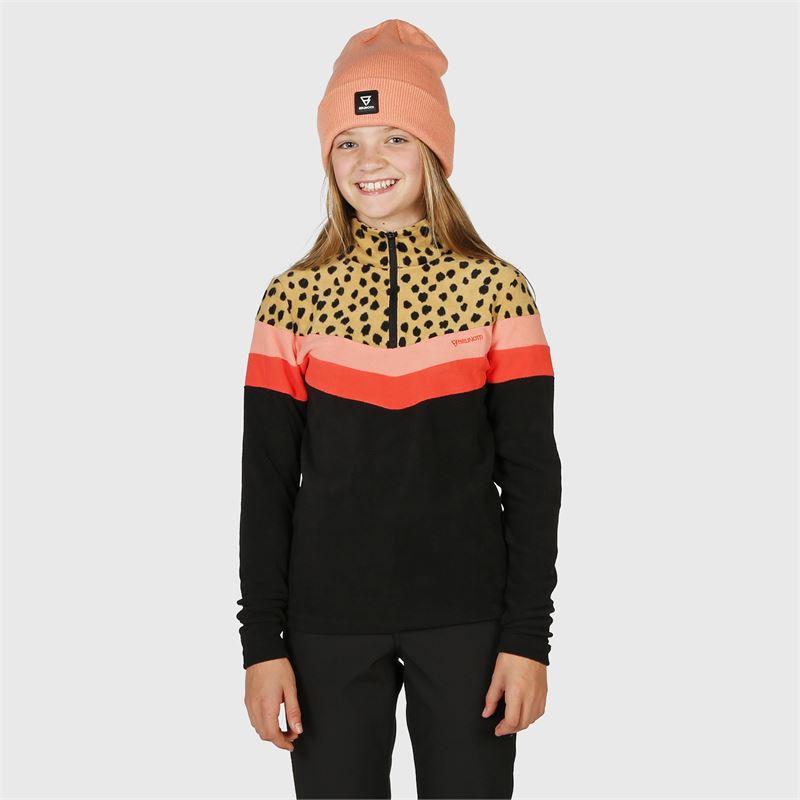 Brunotti Haima-JR  (beige) - meisjes fleeces - Brunotti online shop