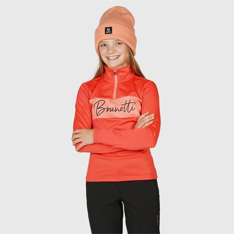 Brunotti Tyra-JR  (red) - girls fleeces - Brunotti online shop
