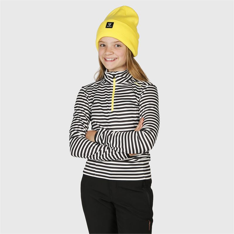 Brunotti Rodia-Stripe-JR  (black) - girls fleeces - Brunotti online shop
