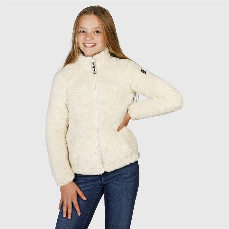 Brunotti Moani-JR  (wit) - meisjes fleeces - Brunotti online shop