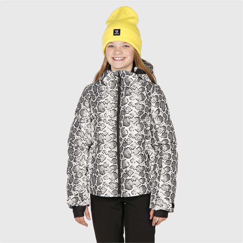 Brunotti Mikala-AO-JR  (wit) - meisjes ski-jassen - Brunotti online shop