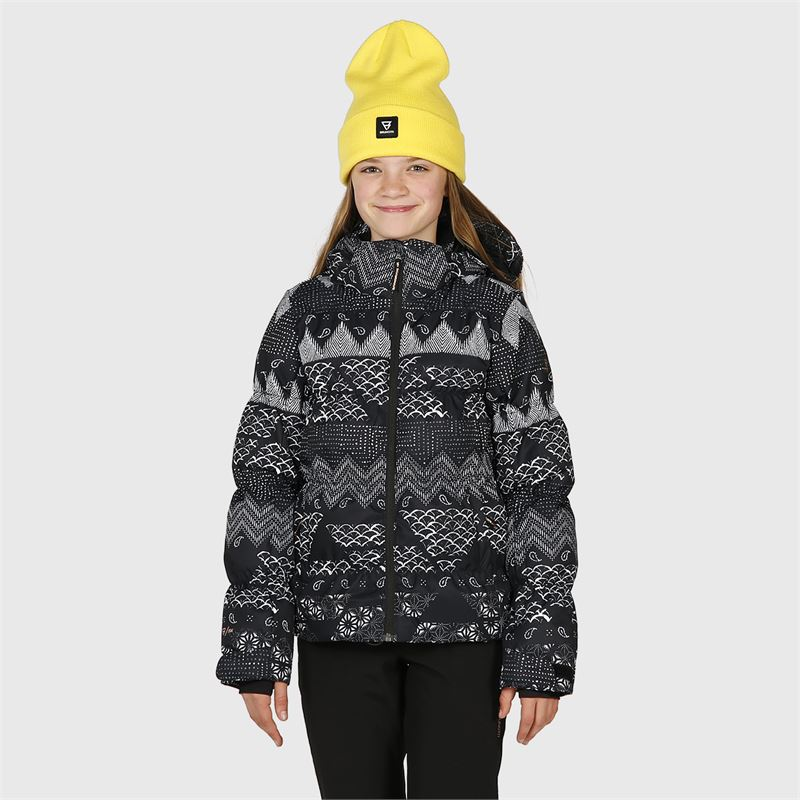 Brunotti Mikala-AO-JR  (schwarz) - mädchen skijacken - Brunotti online shop