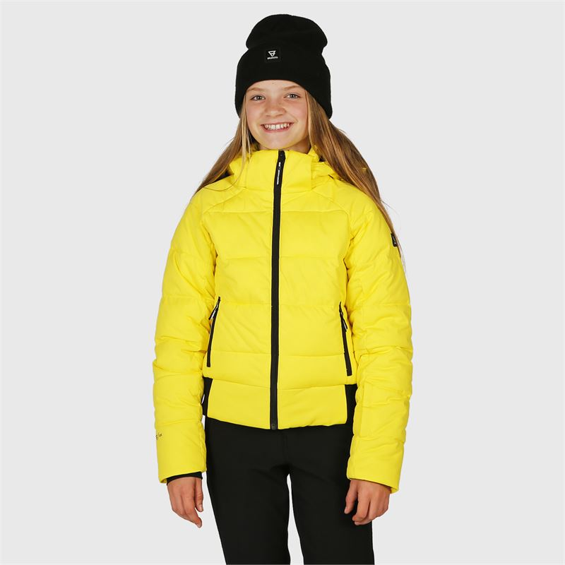 Brunotti Firecrown-JR  (yellow) - girls snow jackets - Brunotti online shop