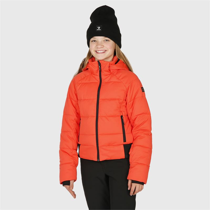 Brunotti Firecrown-JR  (red) - girls snow jackets - Brunotti online shop