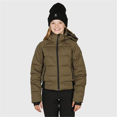 Brunotti Firecrown-JR Girls Snowjacket. Beschikbaar in 116,128,140,152,164,176 (2024123605-0744)