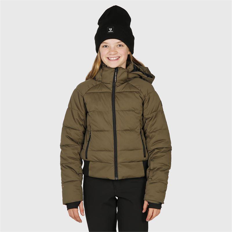 Brunotti Firecrown-JR  (grün) - mädchen skijacken - Brunotti online shop