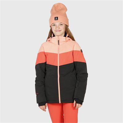 Brunotti Okalani-JR Girls Snowjacket. Available in 116,128,140,152,164,176 (2024123609-0380)