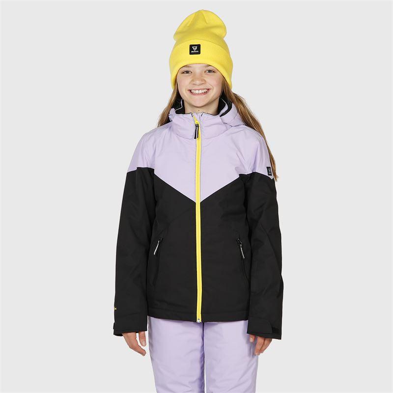 Brunotti Sheerwater-JR  (paars) - meisjes ski-jassen - Brunotti online shop