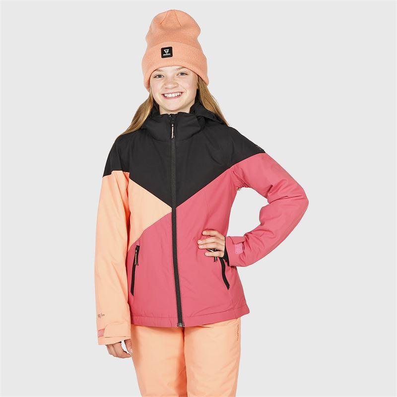 Brunotti Sheerwater-JR  (pink) - girls snow jackets - Brunotti online shop