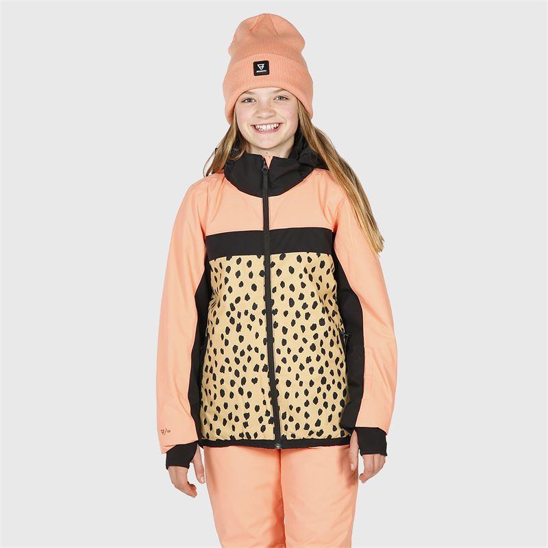 Brunotti Ealan-AO-JR  (roze) - meisjes ski-jassen - Brunotti online shop