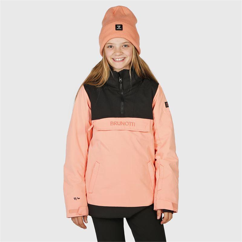Brunotti Rey-JR  (roze) - meisjes ski-jassen - Brunotti online shop