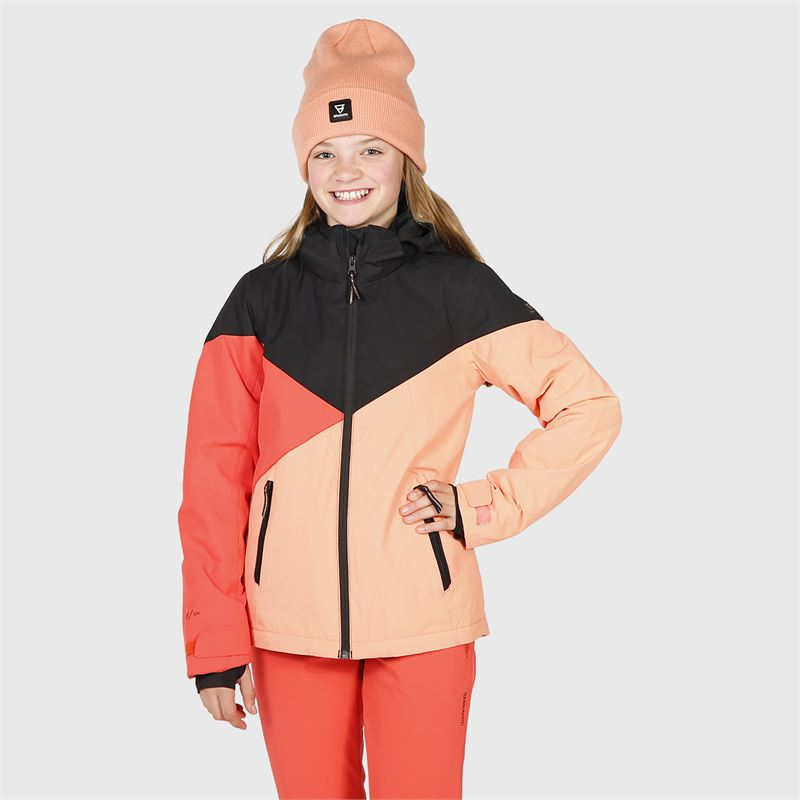 Brunotti Sheerwater-S-JR  (red) - girls snow jackets - Brunotti online shop