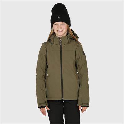 Brunotti Ariesta-N-JR Girls Softshelljacket. Beschikbaar in 116,128,140,152,164,176 (2024124641-0744)