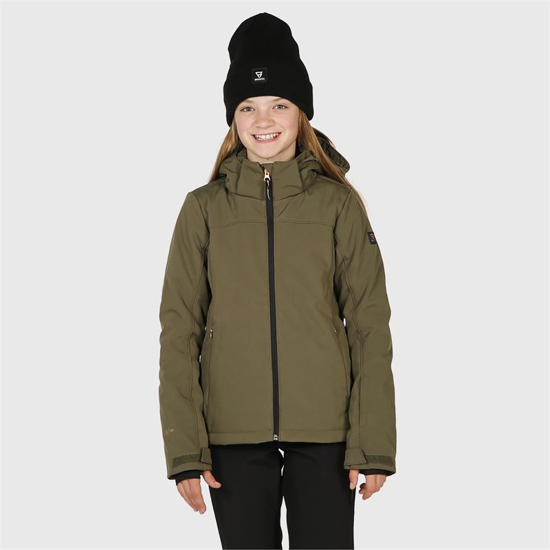Brunotti Ariesta-JR-N  (green) - girls snow jackets - Brunotti online shop