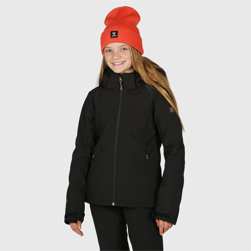 Brunotti Ariesta-JR-N  (black) - girls snow jackets - Brunotti online shop
