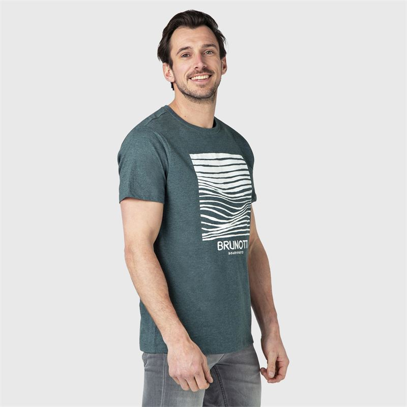 Brunotti Coldy  (green) - men t-shirts & polos - Brunotti online shop
