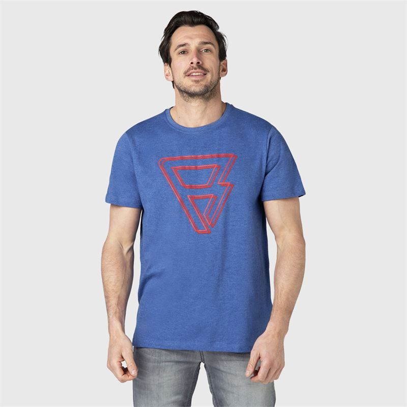 Brunotti Coldy  (blue) - men t-shirts & polos - Brunotti online shop