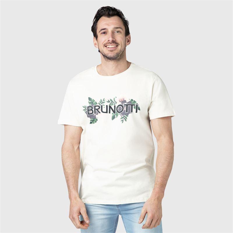 Brunotti Tyson  (weiß) - herren t-shirts & polos - Brunotti online shop