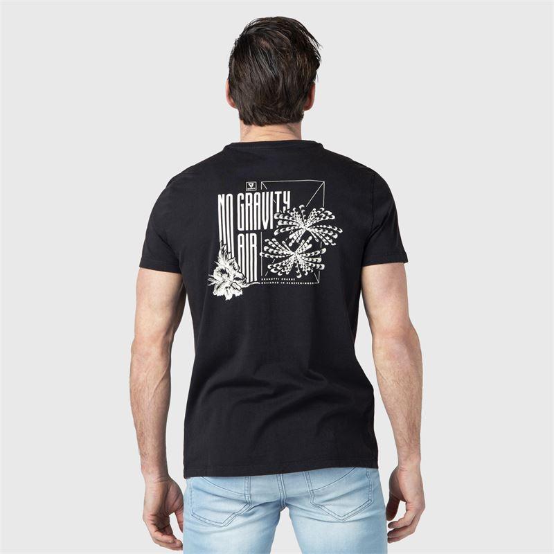 Brunotti Ivan-Back  (zwart) - heren t-shirts & polo's - Brunotti online shop