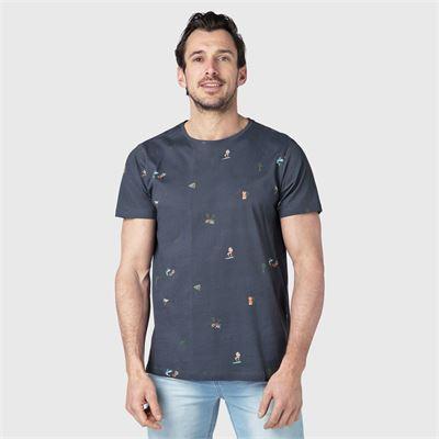 Brunotti Reyes Men T-shirt. Verfügbar in M,L,XL,XXL (2111100167-9997)