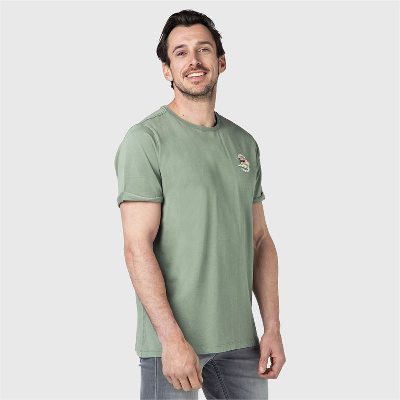 Brunotti Matia  (green) - men t-shirts & polos - Brunotti online shop