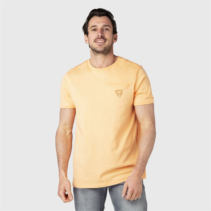 Brunotti Teyo  (oranje) - heren t-shirts & polo's - Brunotti online shop
