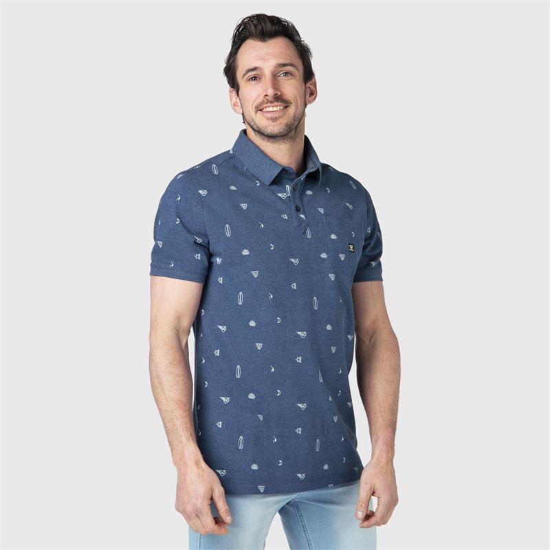 Brunotti Addax-AO  (blauw) - heren t-shirts & polo's - Brunotti online shop