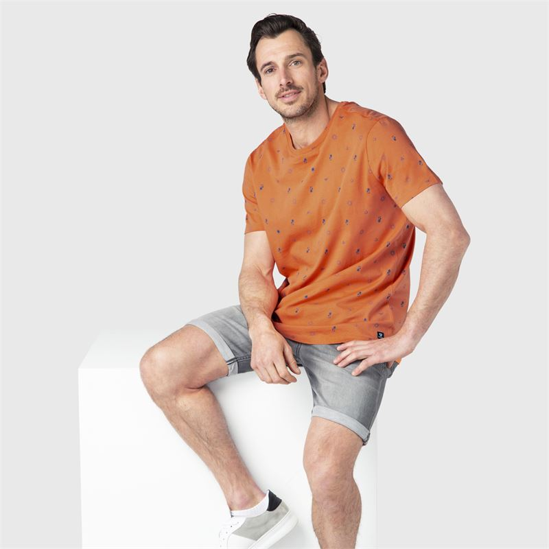 Brunotti Tim-Mini-AO  (orange) - herren t-shirts & polos - Brunotti online shop
