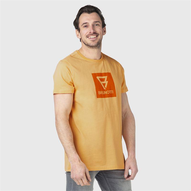 Brunotti John-Logo  (oranje) - heren t-shirts & polo's - Brunotti online shop