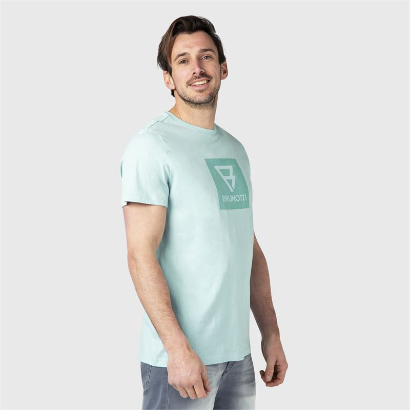 Brunotti John-Logo  (blue) - men t-shirts & polos - Brunotti online shop
