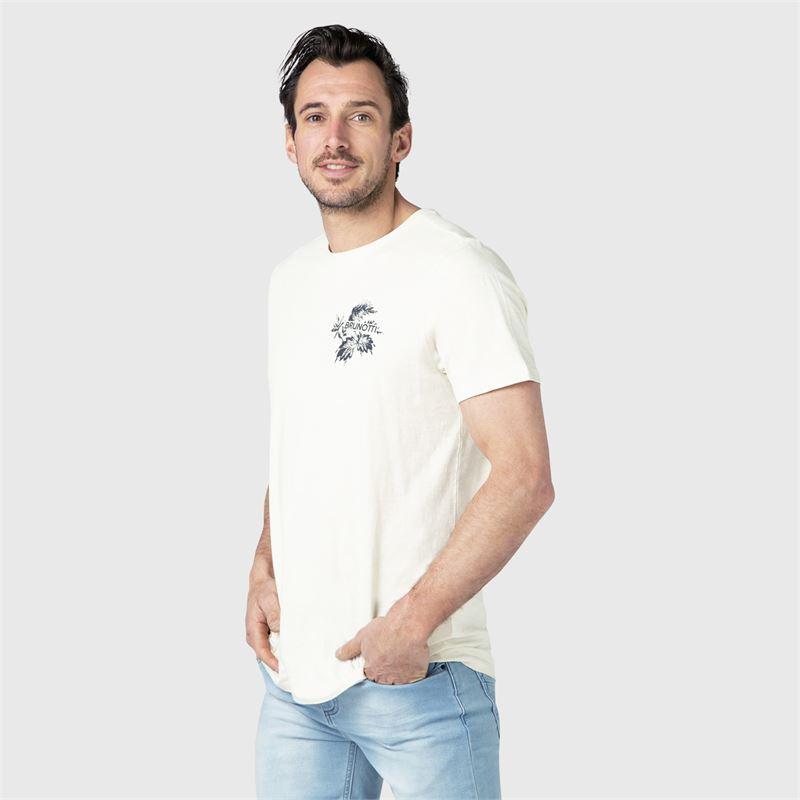 Brunotti Jairo  (weiß) - herren t-shirts & polos - Brunotti online shop