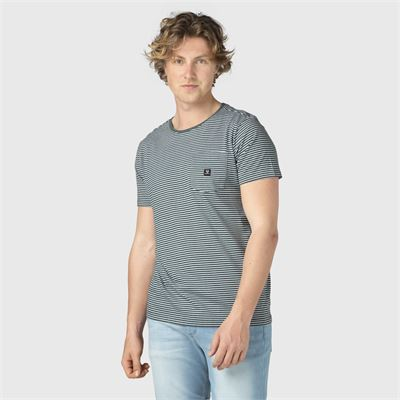 Brunotti Axle-Ydstripe-pckt Men T-shirt. Verfügbar in L,XL,XXL,XXXL (2111100209-6999)