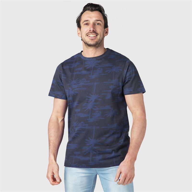 Brunotti Ben-AO  (blau) - herren t-shirts & polos - Brunotti online shop