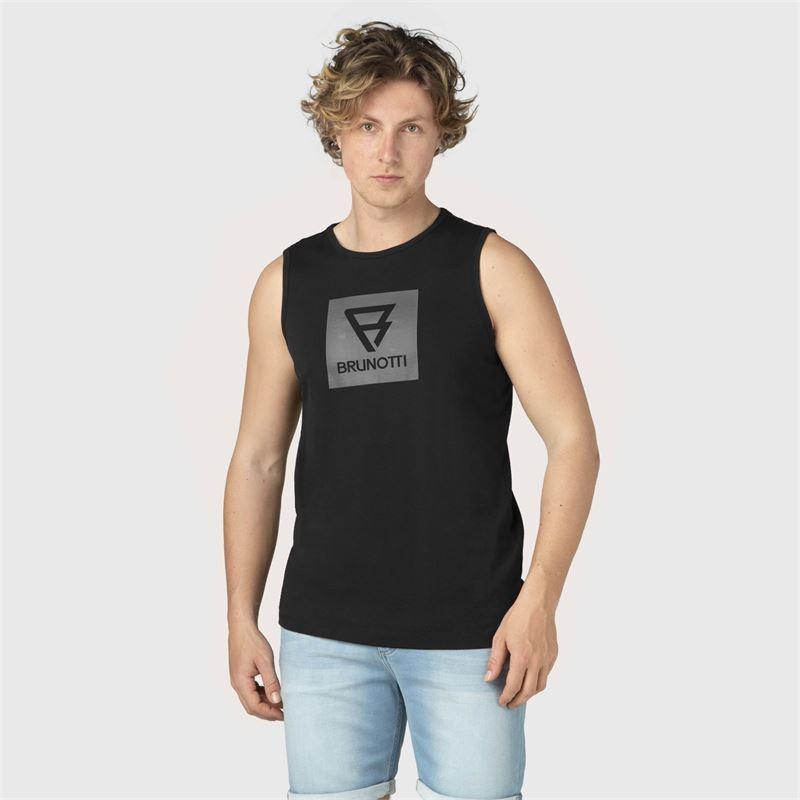 Brunotti Jordan  (zwart) - heren t-shirts & polo's - Brunotti online shop