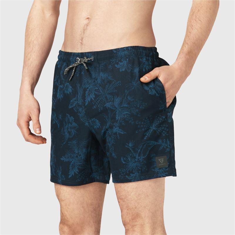 Brunotti Valerio  (blauw) - heren zwemshorts - Brunotti online shop