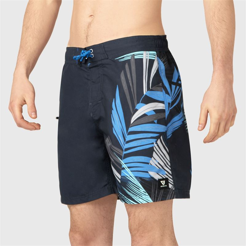 Brunotti Frye-Zip-PP  (blue) - men swimshorts - Brunotti online shop