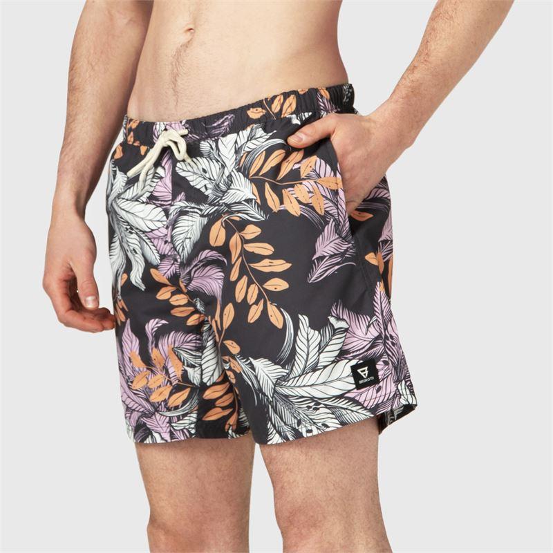 Brunotti Tasker-Flower  (black) - men swimshorts - Brunotti online shop