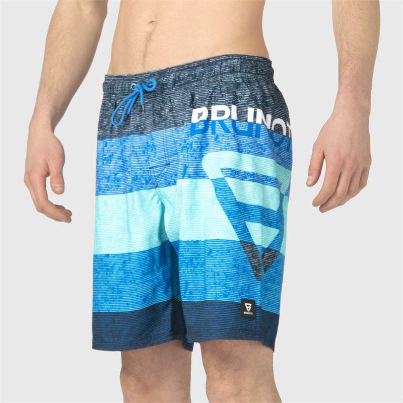 Brunotti Kelvin-PP  (blau) - herren schwimmshorts - Brunotti online shop