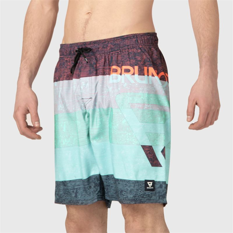 Brunotti Kelvin-PP  (zwart) - heren zwemshorts - Brunotti online shop