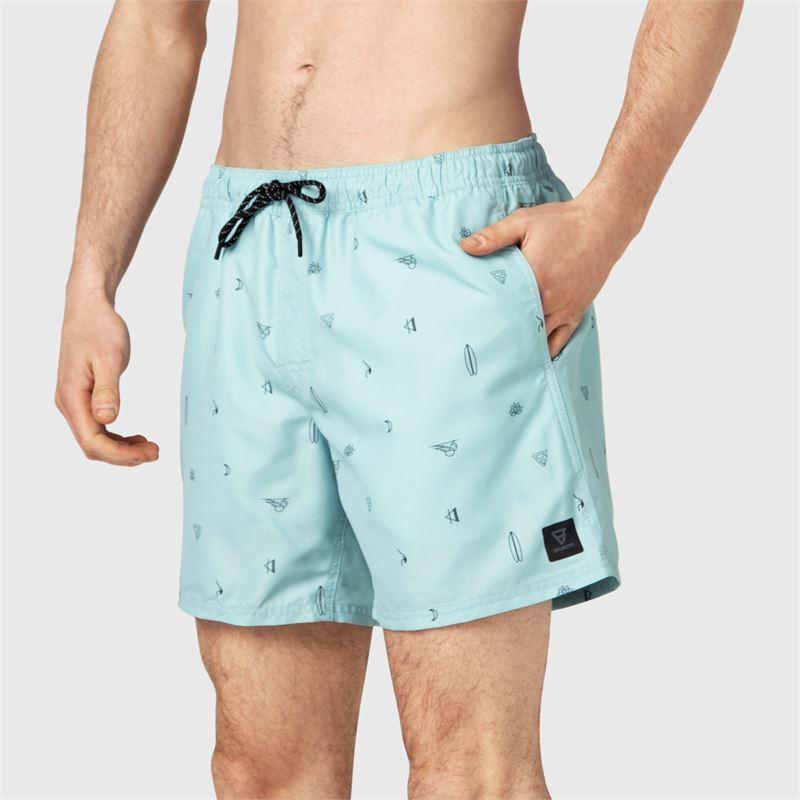 Brunotti Craloo-AO  (blauw) - heren zwemshorts - Brunotti online shop