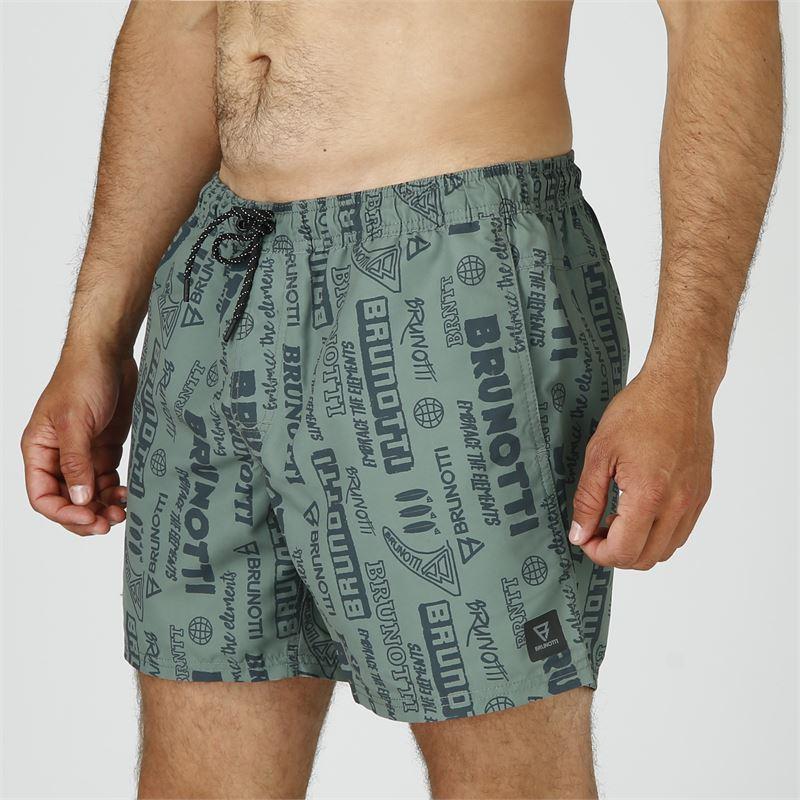 Brunotti Craloo-AO  (groen) - heren zwemshorts - Brunotti online shop