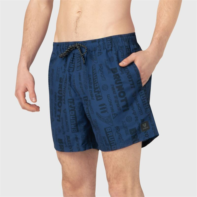 Brunotti Craloo-AO  (blue) - men swimshorts - Brunotti online shop
