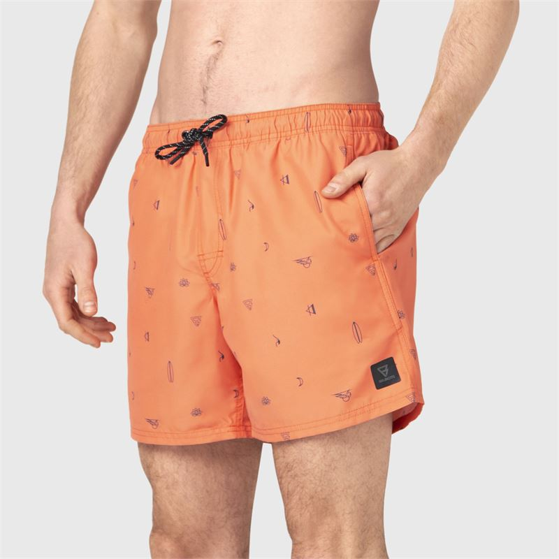 Brunotti Craloo-AO  (orange) - herren schwimmshorts - Brunotti online shop