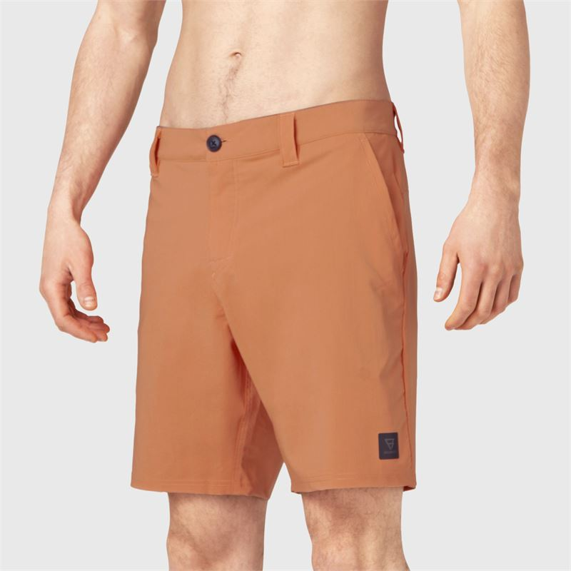 Brunotti Garrett  (oranje) - heren boardshorts - Brunotti online shop