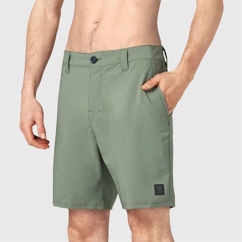Brunotti Garrett  (groen) - heren boardshorts - Brunotti online shop