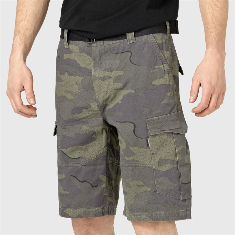 Brunotti Caldeco-AO  (grijs) - heren casual shorts - Brunotti online shop