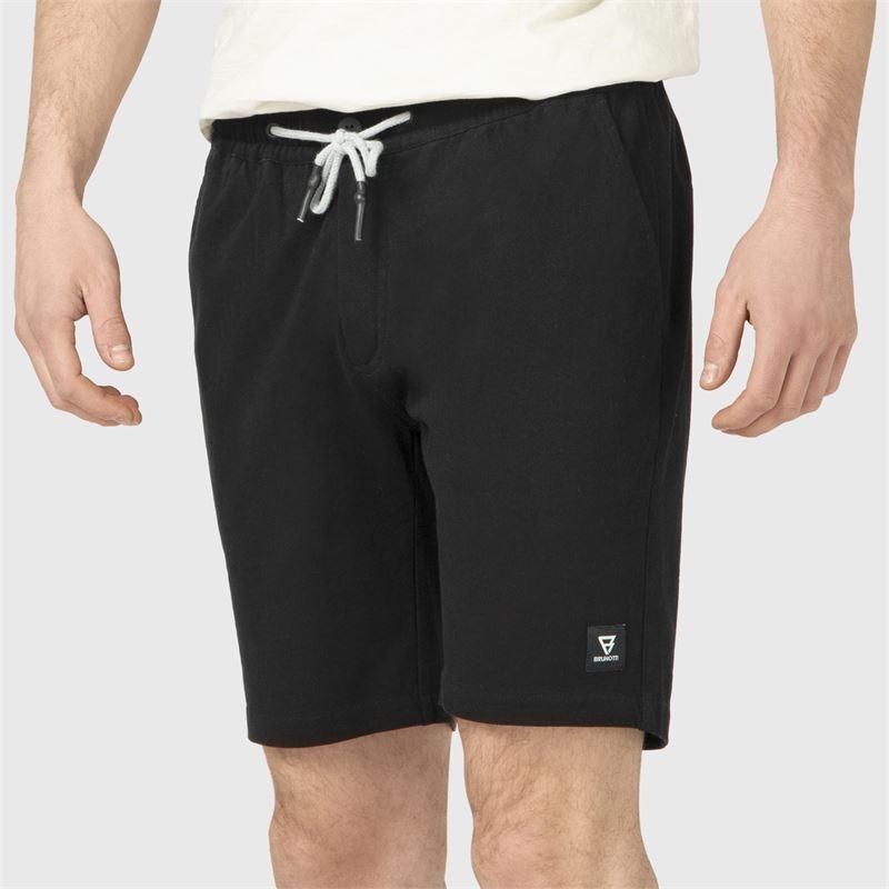 Brunotti Bertin  (zwart) - heren casual shorts - Brunotti online shop